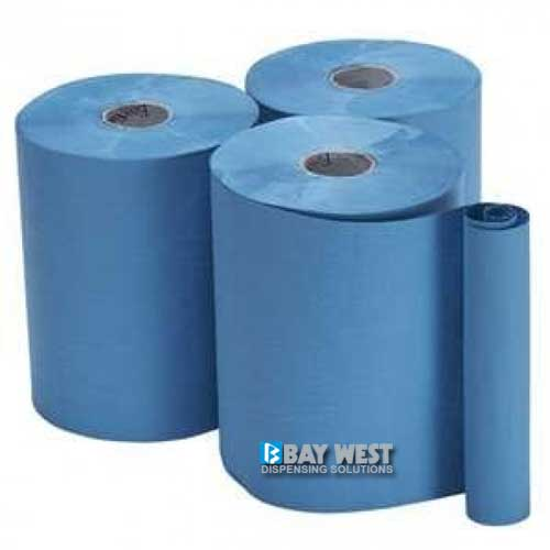 Bay West Opti-Serv Roller Hand Towel 1ply Blue