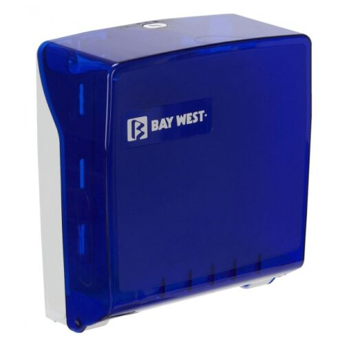 Bay West Microfold Hand Towel Dispenser - blue