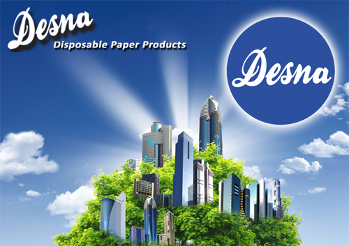 desna disposable paper products brochure from Loorolls.com