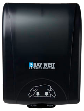 opti-serv baywest hand towel dispenser