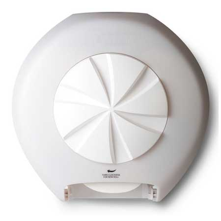 bay west revolution dispenser in white