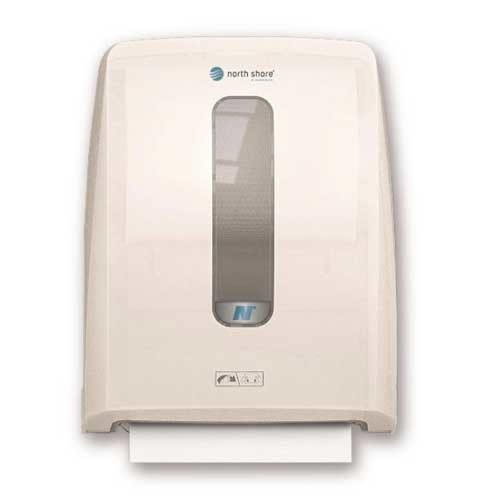North Shore Hands Free Hand Towel Dispenser White