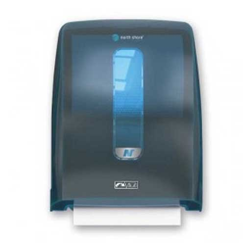 North Shore Hands Free Hand Towel Dispenser Blue