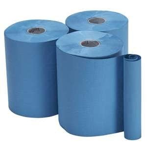 North Shore Roll Towels 1ply Blue 150m